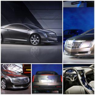 Cadillac Converj - электрокар от GM