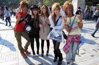 Удивительная японская мода