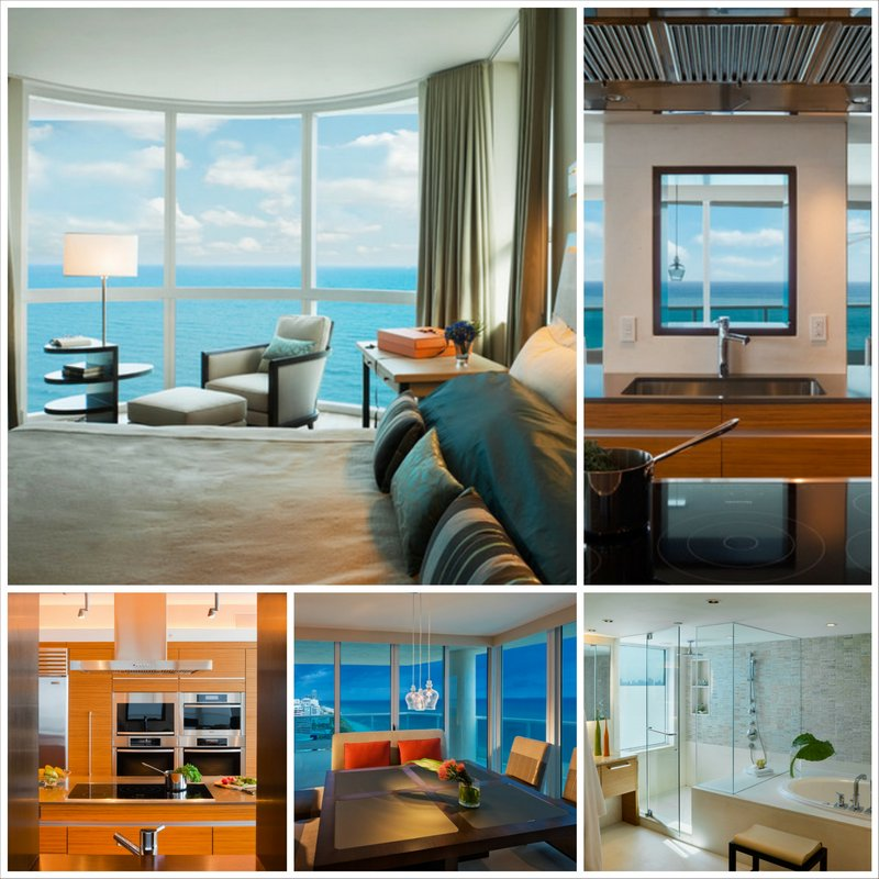 Интерьер квартиры в Майами