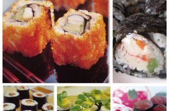 Едим суши, пьем саке