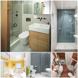 Как визуально увеличить пространство в ванной комнате?