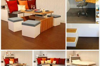 Компактная мебель и её преимущества