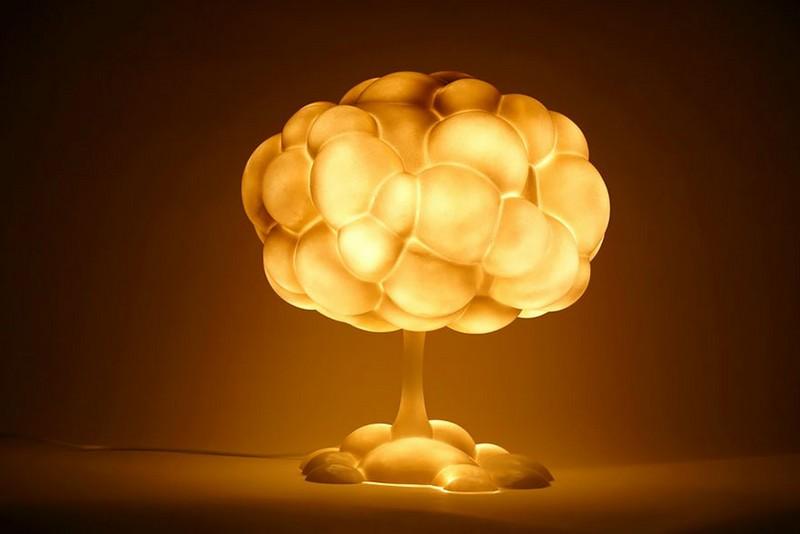 Лампа - грибовидное облако
