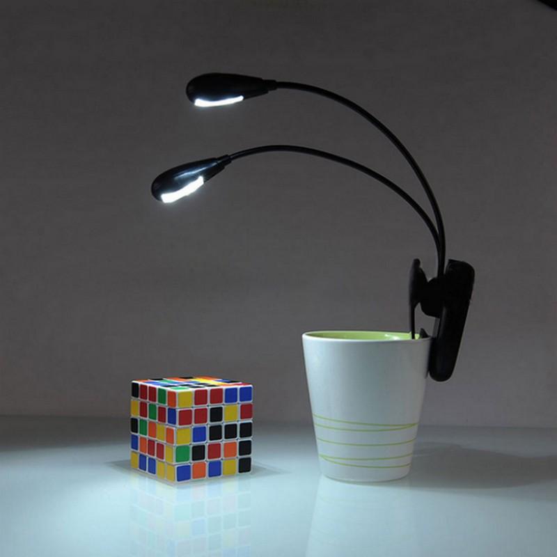 Лампа-скрепка