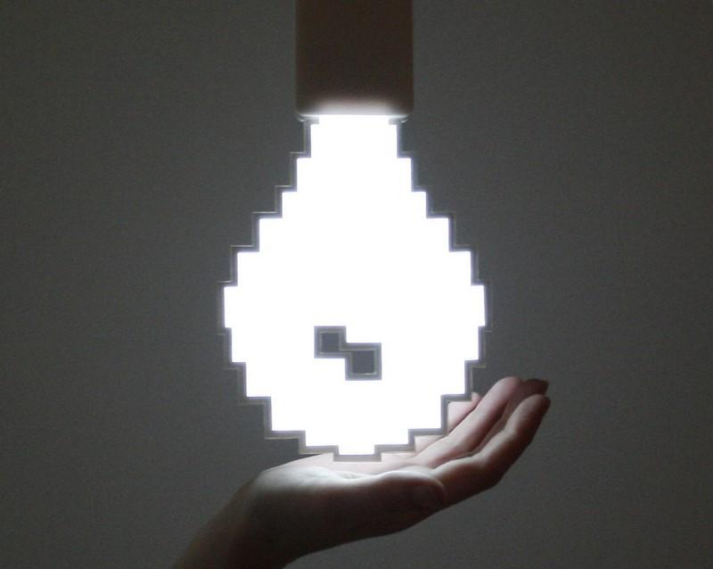 Пиксельная лампа