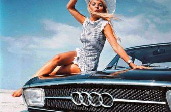 Ретро фото - девушки и автомобили