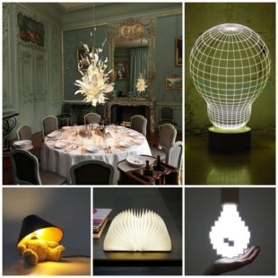 Самые необычные и оригинальные светильники