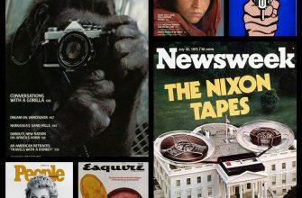 Первое место было отдано обложке журнала Rolling Stone с фотографией Джона Леннона и Йоко Оно, сделанной знаменитым фотографом Анни Лейбовиц (Annie Leibovitz) буквально за несколько часов до гибели музыканта 8 декабря 1980 года.
