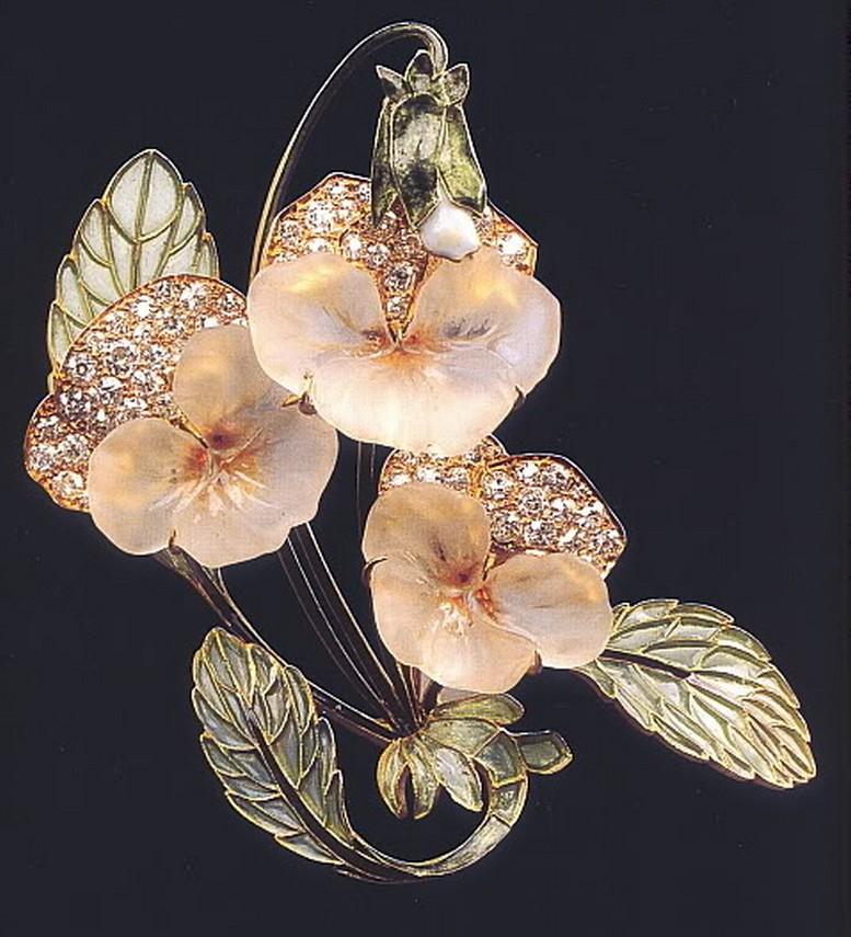 Ювелирные украшения от Рене Лалик