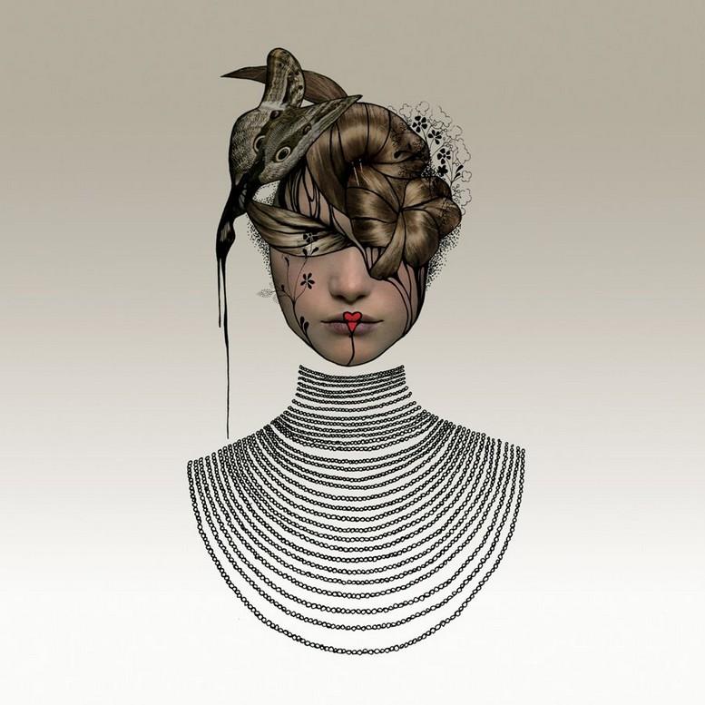 Женственные образы Джеральдины Джорджес