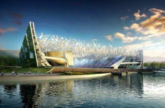 Фантазия ведущих мировых архитекторов - вне времени и пространства