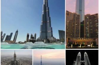 Имена самых высоких зданий планеты