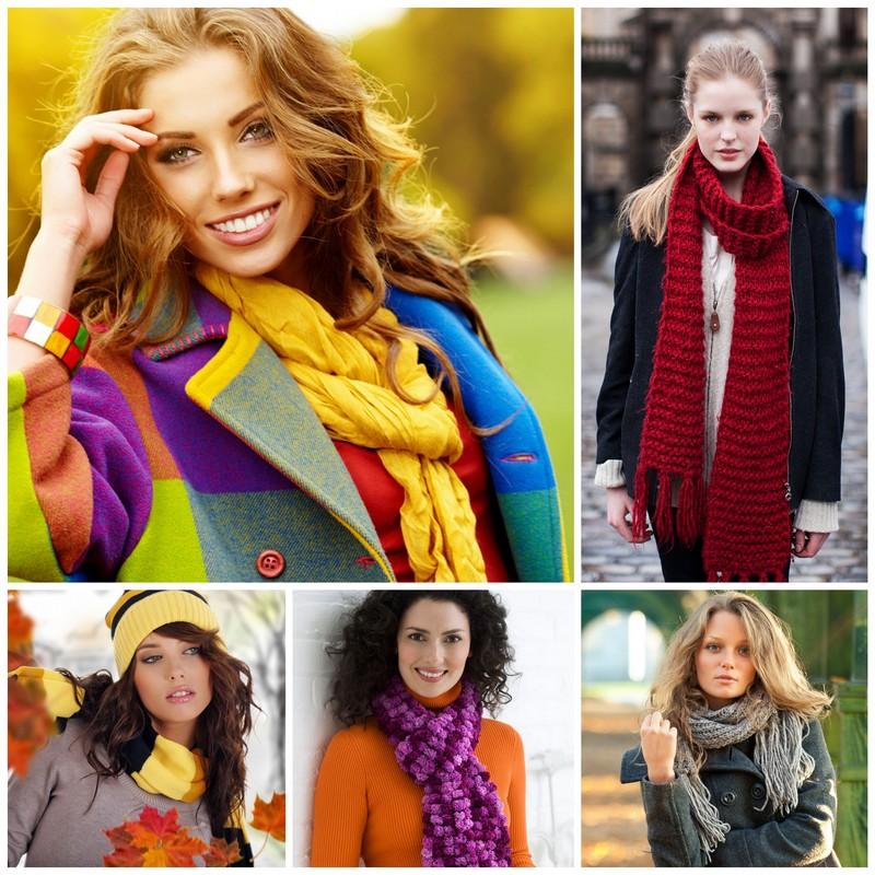 Красивые шарфы - это одни из самых модных и заметных аксессуаров для современных модниц. Все модники знают, что именно детали способны превратить ничем неприметный образ в модный лук.