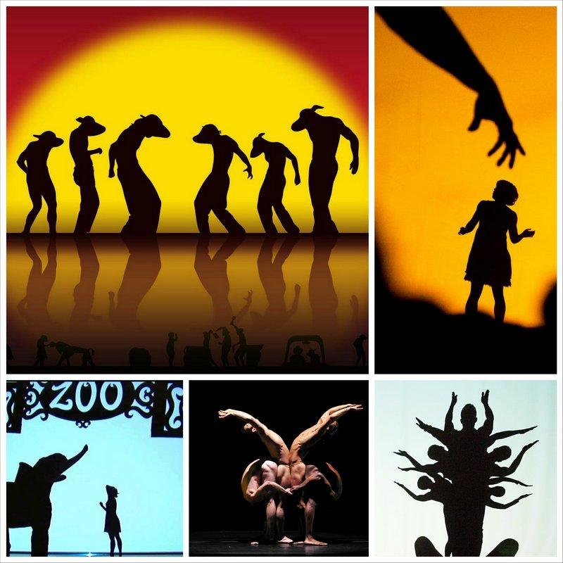Pilobolus - театр теней из Калифорнии