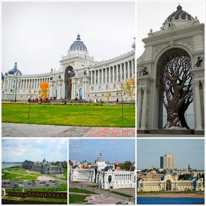 Дворец земледельцев - архитектурные достопримечательности Казани