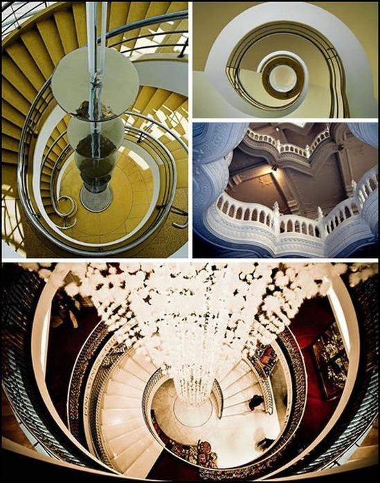 Vintovy e lestnitsy bol shaya podborka fotografij Винтовые лестницы – большая подборка фотографий