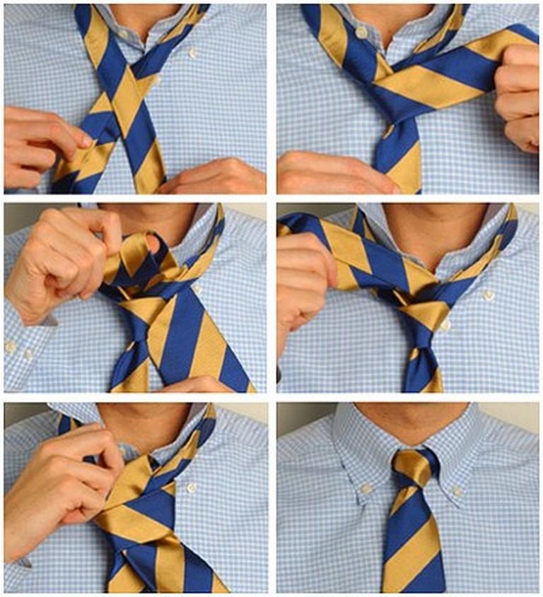 Популярные способы завязывания галстука 1