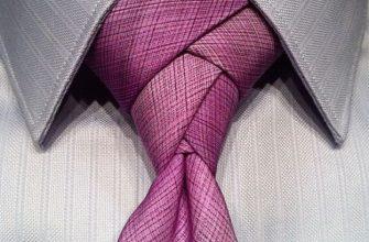 Популярные способы завязывания галстука