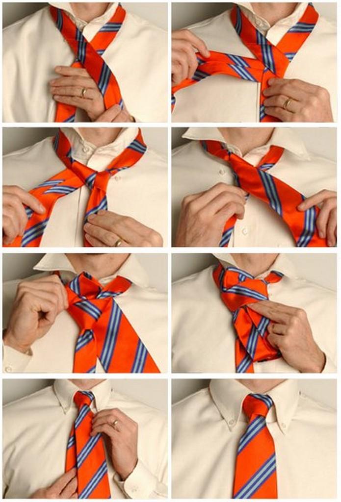 Популярные способы завязывания галстука 4
