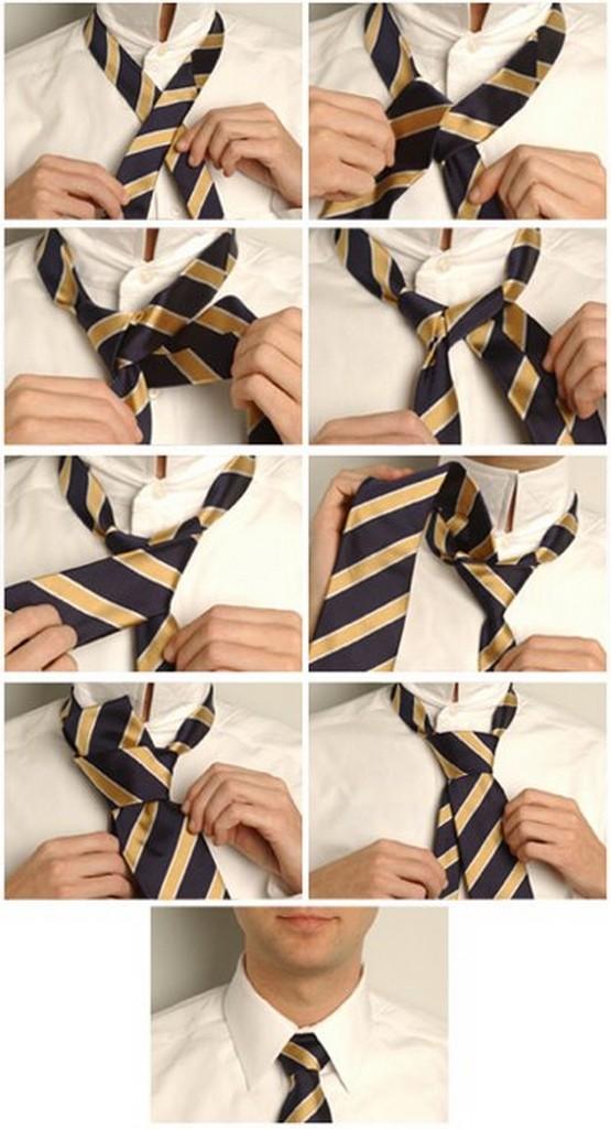 Популярные способы завязывания галстука 5