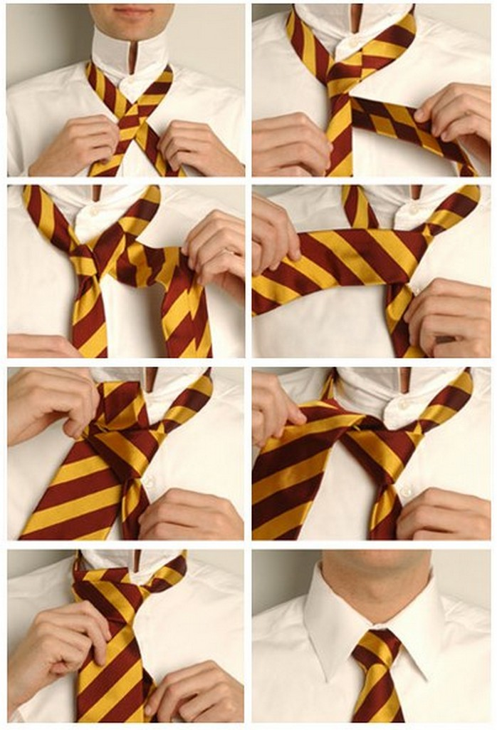 Популярные способы завязывания галстука 6