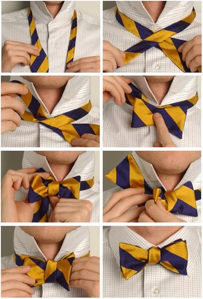 Популярные способы завязывания галстука 7