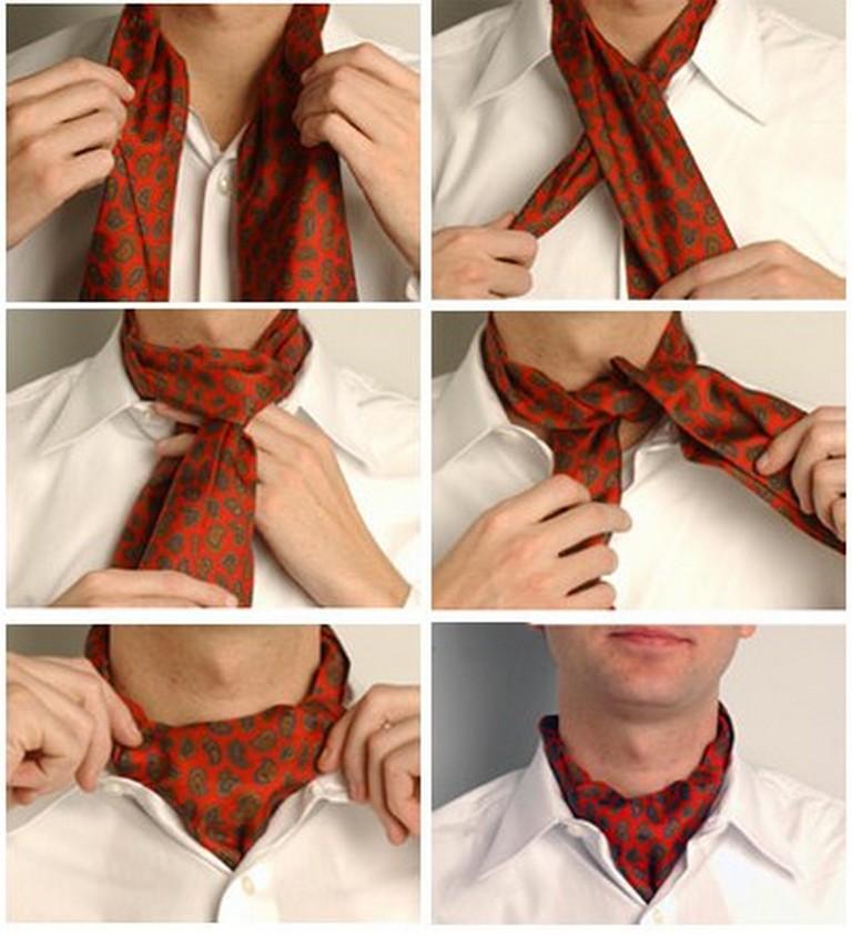 Популярные способы завязывания галстука 8