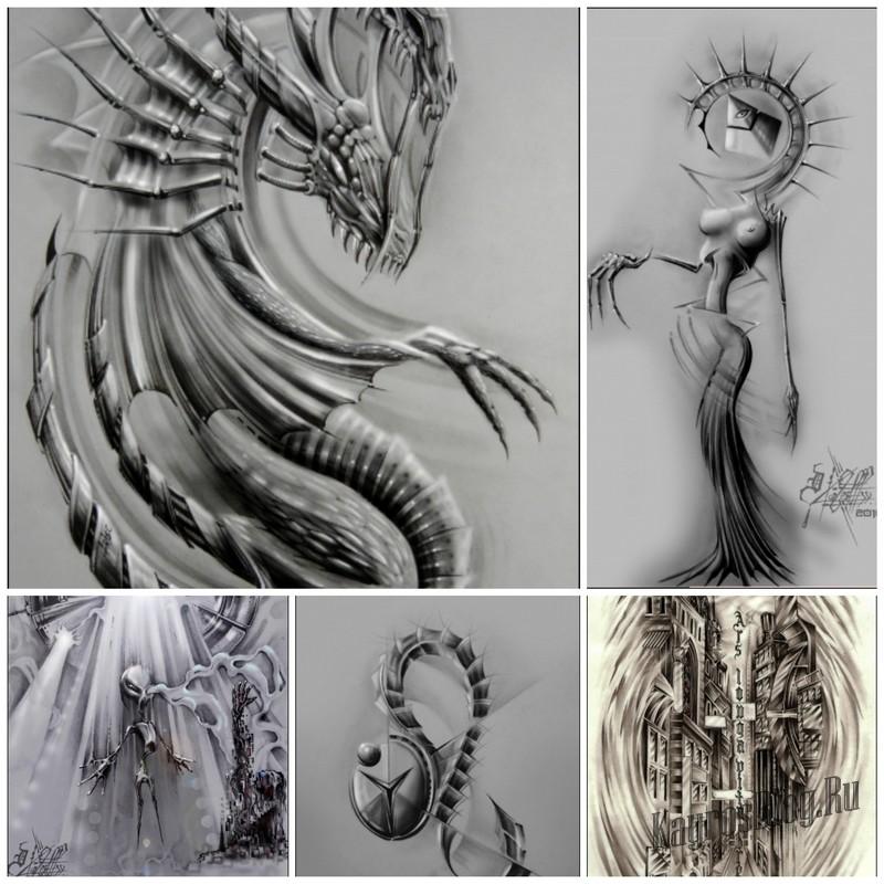 Татуировки художника под ником Ариец