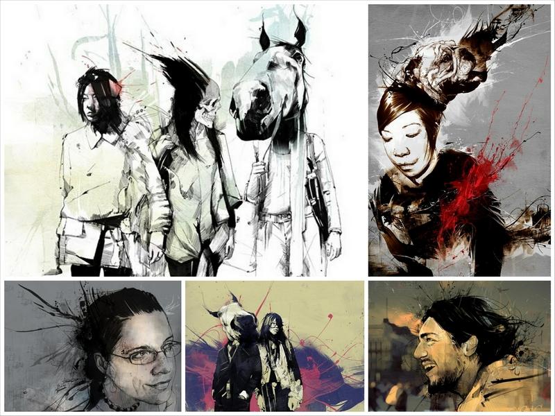 Современные английские художники - Russ Mills