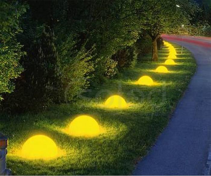 Декоративные светящиеся камни 7