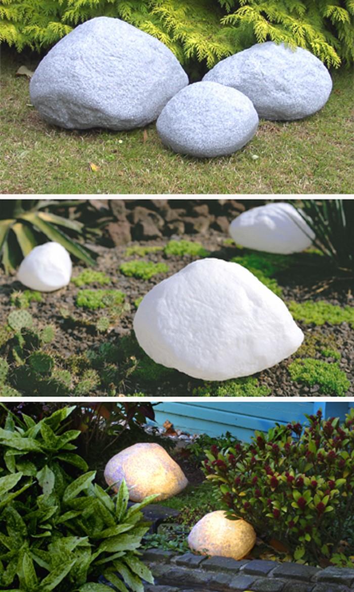Декоративные светящиеся камни