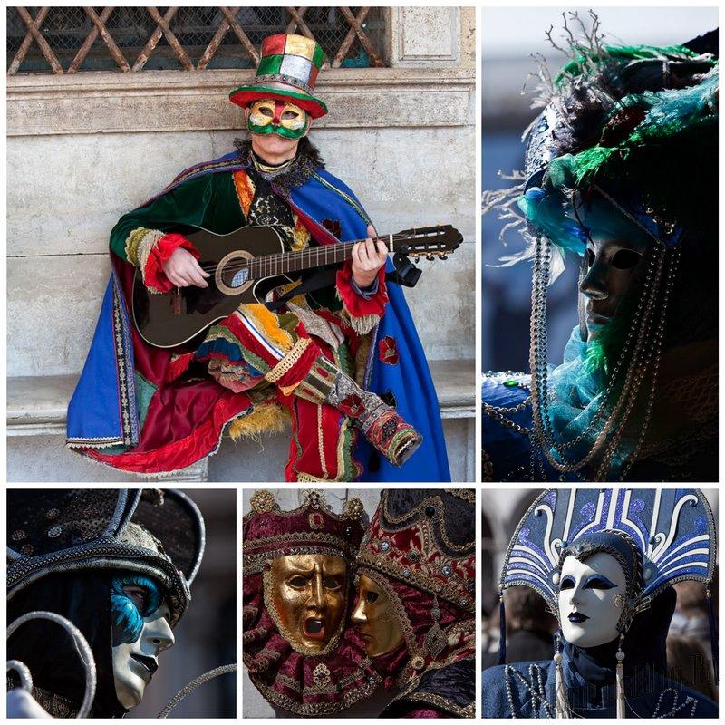 Карнавал в Венеции - лучшие фотографии