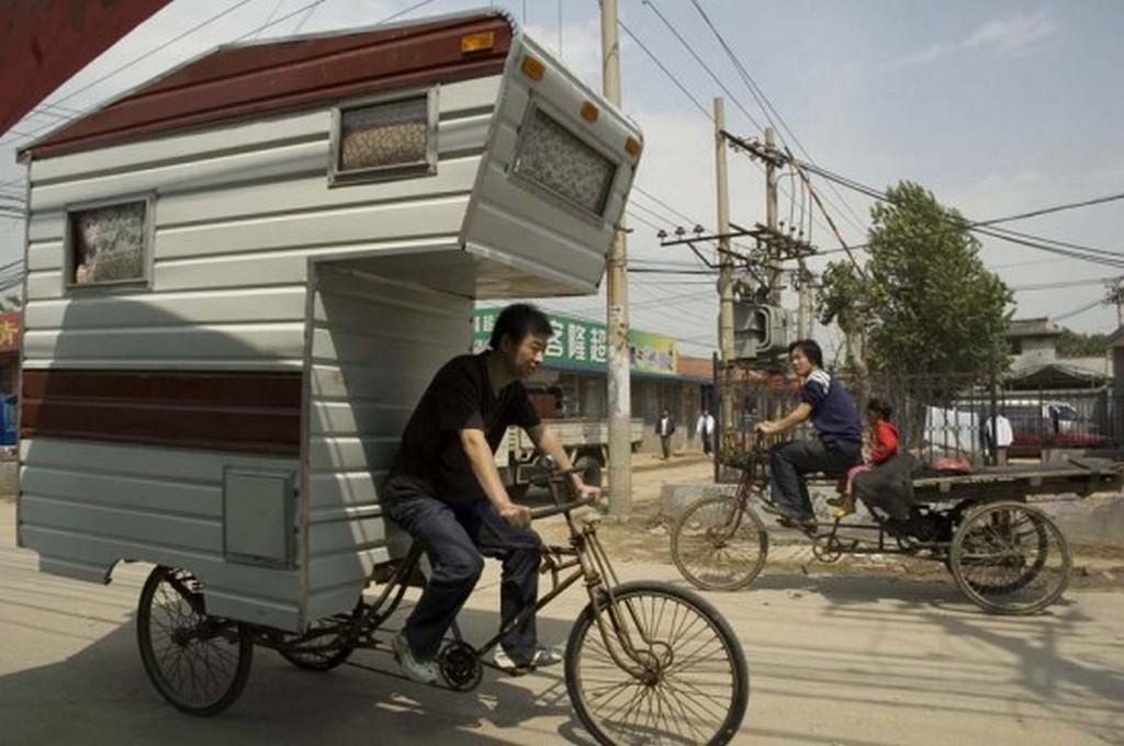 Дизайн проект Camper Bike