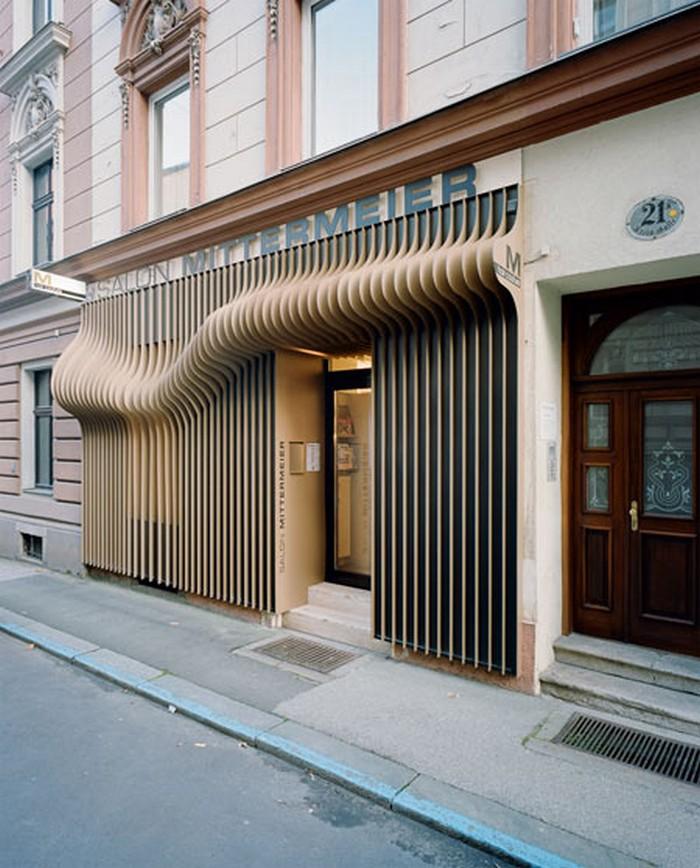 Дизайн салона красоты в австрийском городе Линц