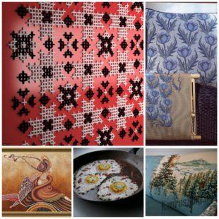 Креативная вышивка крестиком - замечательное хобби
