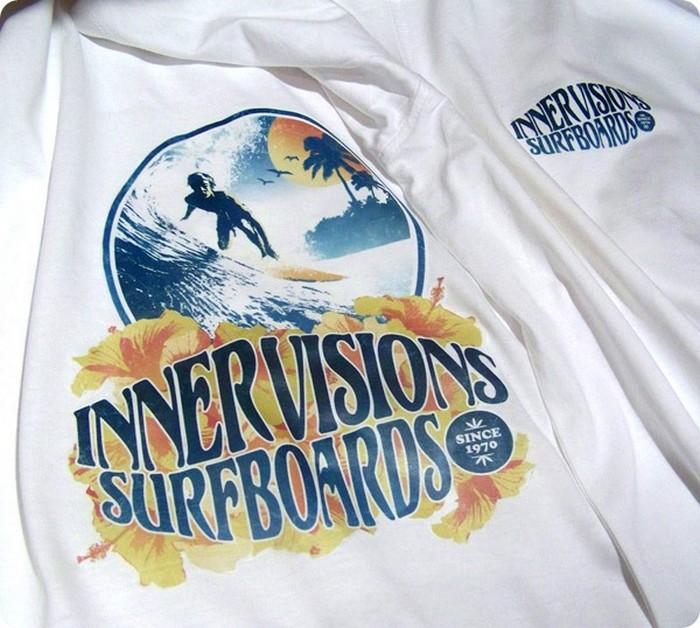 Мастер-класс Креативные футболки в стиле 70-х своими руками