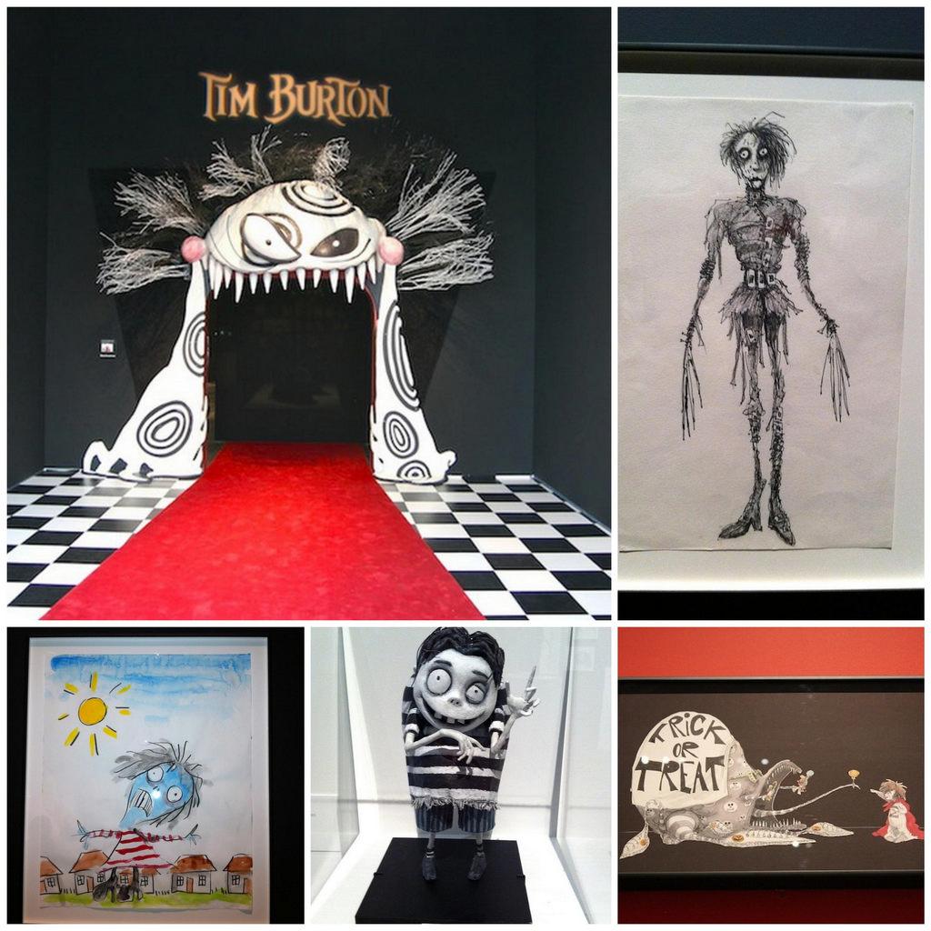 Выставка работ Тима Бёртона (Tim Burton) 1_Fotor_Collage