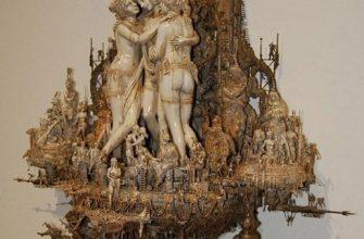 Мастера скульптуры - Крис Кукси (Kris Kuksi)