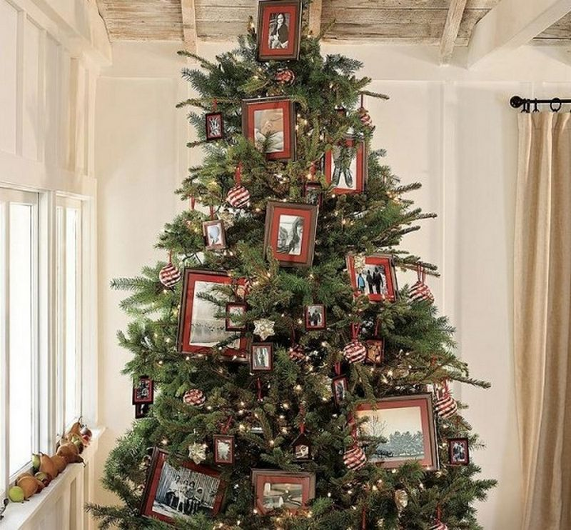 Красивая новогодняя елка - идеи по дизайну