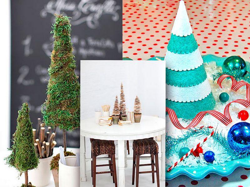 Оригинальная новогодняя елка своими руками - 3 простых варианта