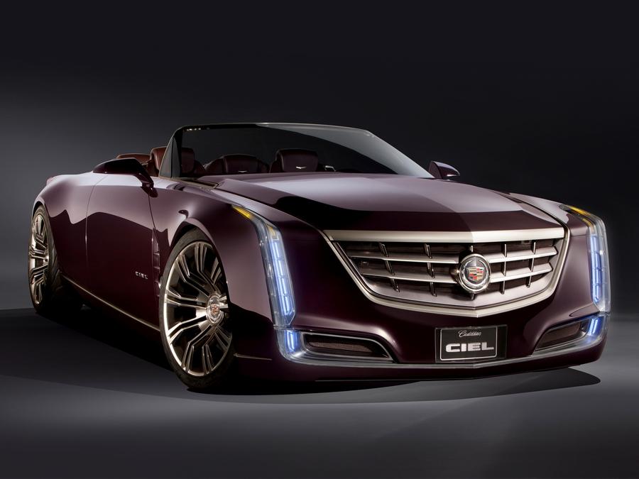 Новый концепт-кар Cadillac Ciel 1