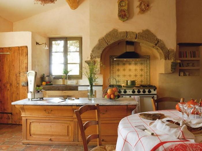 Интерьер кухни желтый