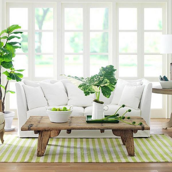 Природные цвета и дизайн интерьеров 7
