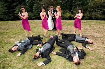 Красивое фото со свадьбы - свежие идеи для фотографа