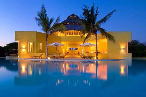 Самые красивые отели - вилла Costa Careyes