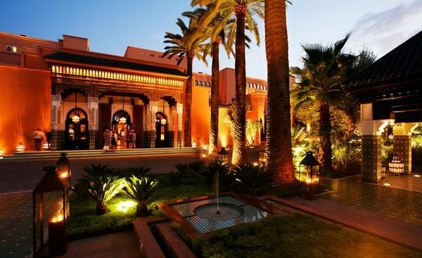 Самые лучшие отели мира - La Mamounia Marrakech
