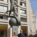 В Лондоне открыли памятник Юрию Гагарину