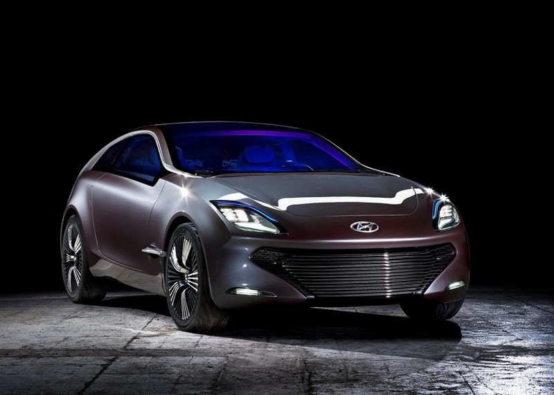 Футуристичный концепт кар I-ioniq от Hyundai