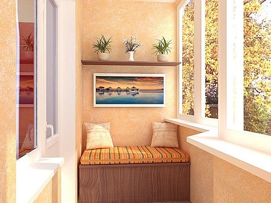 Как преобразить интерьер балкона