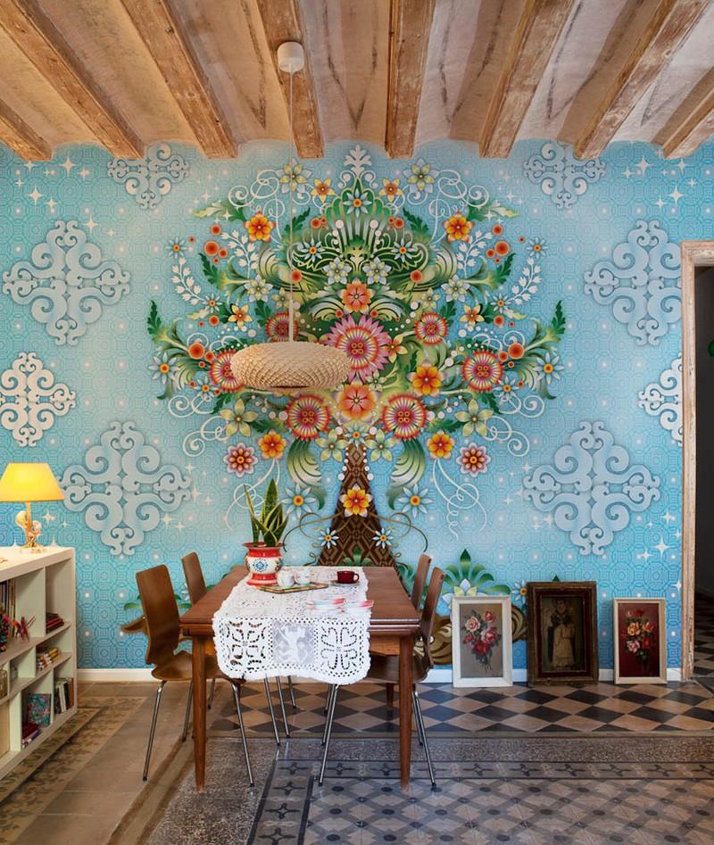 Стильные обои колумбийского дизайнера Каталины Эстрады